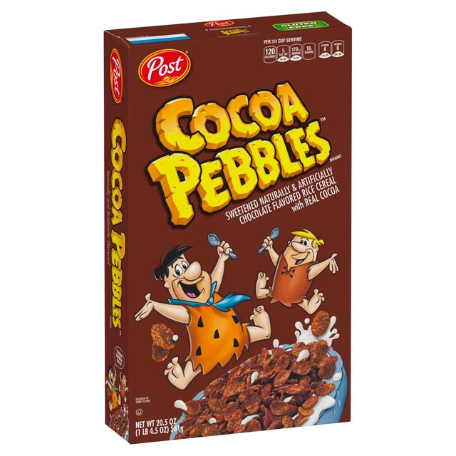 Post Cocoa Pebbles Cereal 311g From Ocado