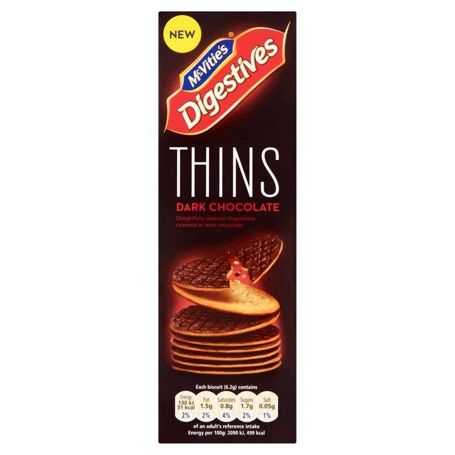 Mcvities Dark Chocolate Digestives Thins Ocado