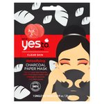 Yes To Tomatoes Detoxifying Charcoal Sheet Face Mask 20ml