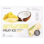 Smooze Banana Fruit Ice Lollies