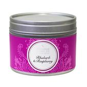 Shearer Candles Rhubarb & Raspberry Scented Candle Tin, 20hr