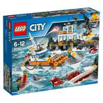 LEGO City Coast Guard Head Quarters 60167, 6yrs+