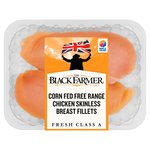 The Black Farmer Corn Fed Free Range Skinless Chicken Breast Fillets
