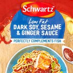 Schwartz Dark Soy, Sesame & Ginger Sauce for Fish