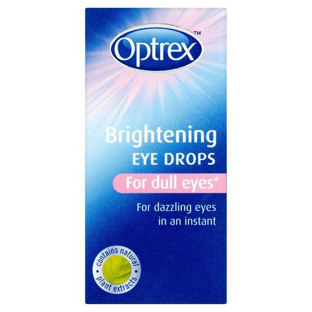 Optrex Brightening Eye Drops For Dull Eyes 10ml From Ocado