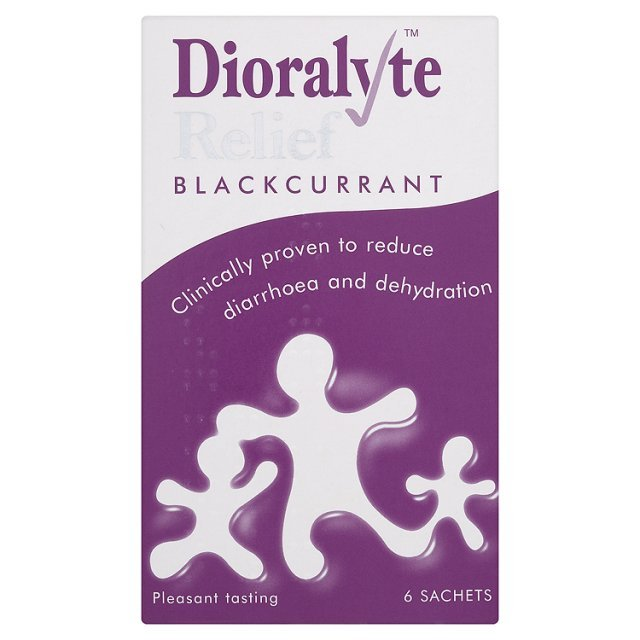 Dioralyte Relief Blackcurrant Sachets