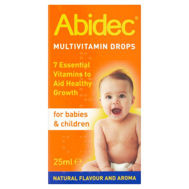 Multivitamin drops for children
