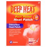 Deep Heat Pain Relief Heat Patches