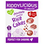 Kiddylicious Chocolate Splashed Rice Cakes