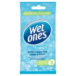 Wet Ones Be Fresh Cooling Original Wipes