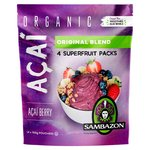 Sambazon Organic Fair Trade Acai Original Smoothie Packs