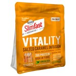 SlimFast Vitality Salted Caramel Infusion Powder
