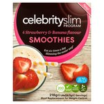 Celebrity Slim Strawberry & Banana Smoothie