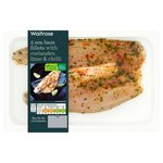 Waitrose Sea Bass with Chilli & Coriander