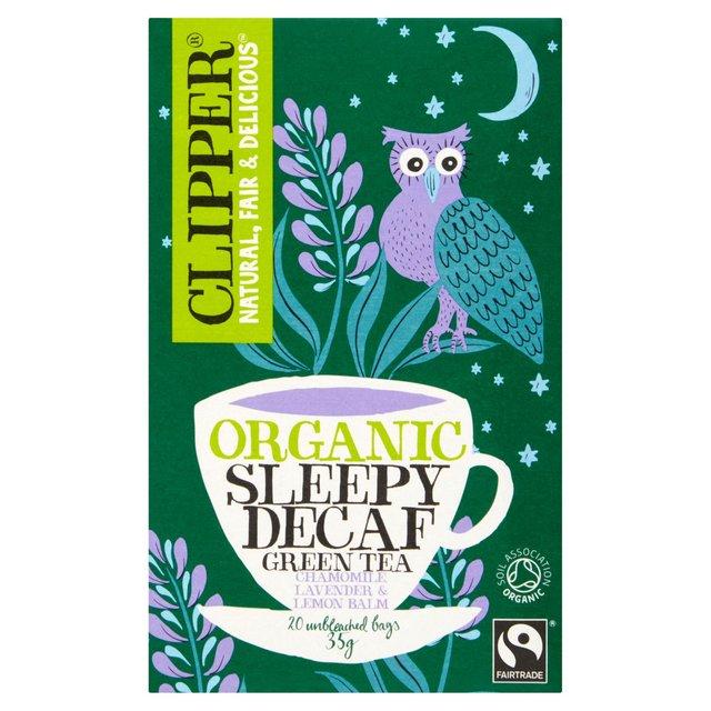 Clipper Organic Sleepy Decaf Green Tea