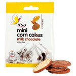 Itsu Milk Chocolate Mini Corn Cakes