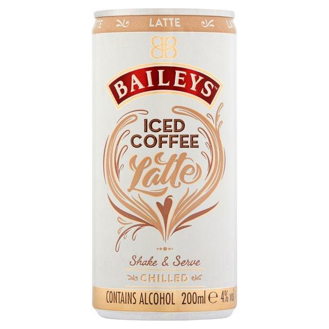 Baileys Iced Coffee Latte