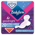 Bodyform Ultra Night Wing Duo Pack