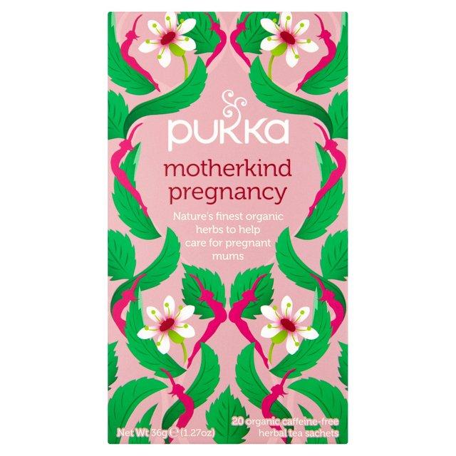 Pukka Motherkind Pregnancy Herbal Tea Bags   Ocado