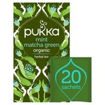 Pukka Mint Matcha Green Tea Bags