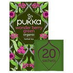 Pukka Wonder Berry Green Tea Bags