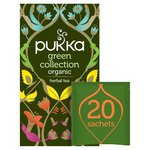 Pukka Green Tea Bags Collection