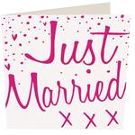 Caroline Gardner Just Married Card