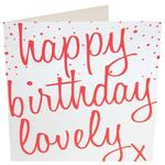 Caroline Gardner Happy Birthday Lovely Card