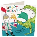 Caroline Gardner Kids Dragon Card