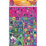 Trolls Mega Pack Stickers, 3yrs+