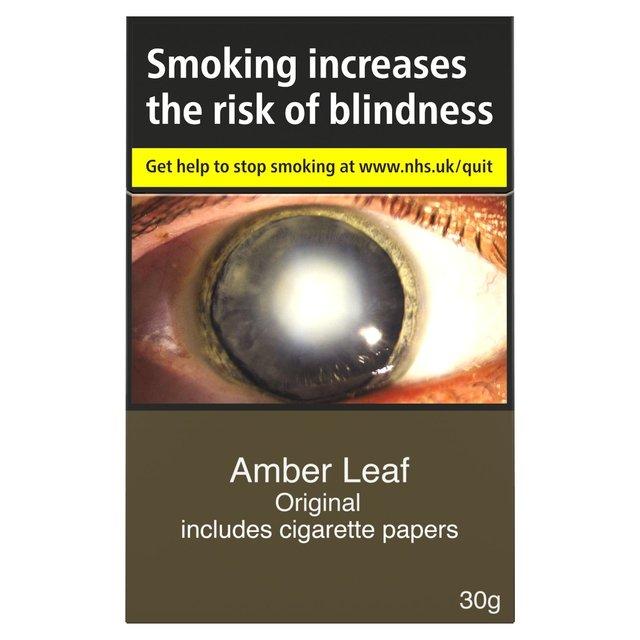 Amber Leaf Original Flip Top Box 30g From Ocado