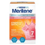 Meritene Strength and Vitality Strawberry Shake