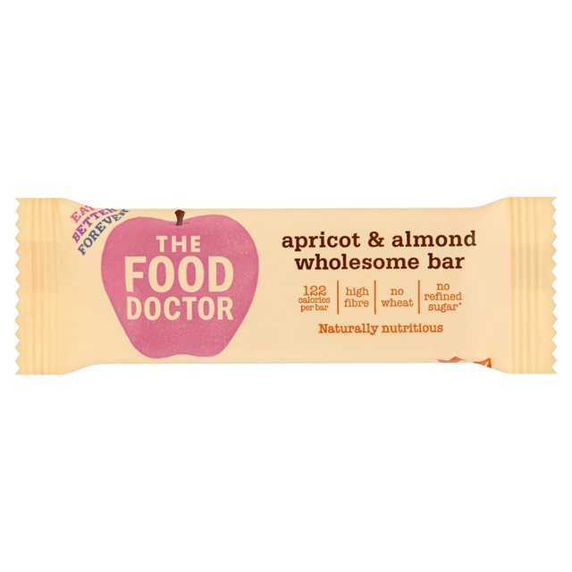 The Food Doctor Apricot & Almond Wholesome Bar