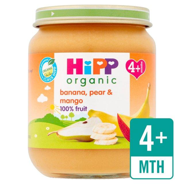 Hipp Organic Banana Pear Amp Mango Ocado