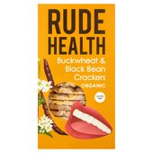 Rude Health Buckwheat & Black Bean Cracker