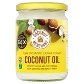 Coconut Merchant Organic Raw Extra Virgin Coconut Oil