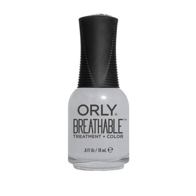 How Does Powder Nail Polish Work: Orly Breathable Powder Blue/Grey Nail Polish 18ml From Ocado