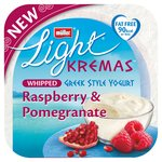 Muller Light Kremas Raspberry & Pomegranate