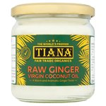 Tiana Fair Trade Raw Ginger Virgin Coconut Oil