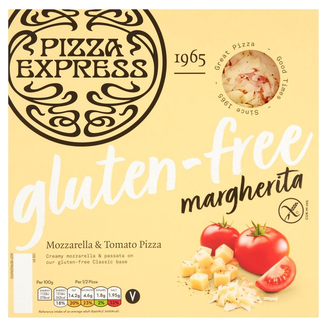 Pizza Express Gluten Free Margherita Ocado