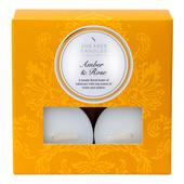Shearer Candles Amber & Rose Scented Tealights