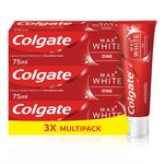 Colgate Max White One Whitening Triple Pack Toothpaste