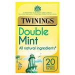 Twinings Double Mint Infusions Tea Bags