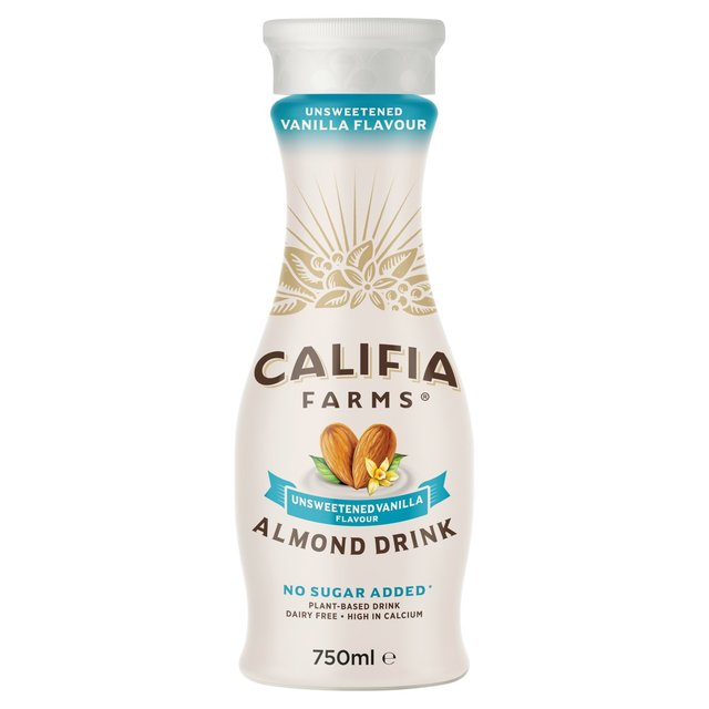 Offer - Califia Farms Almond Unsweetened Vanilla 750ml