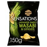 Sensations Wasabi & Ginger Crisps