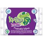 Kandoo Sensitive Toddler Wipes 50 per pack