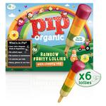 Pip Organic Rainbow Fruity Organic Lollies with Cheeky Veg