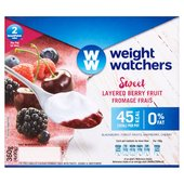 Weight Watchers Layered Berry Fruit Fromage Frais