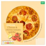 Waitrose Cheese & Cherry Tomato Quiche