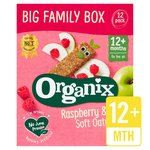Organix Raspberry & Apple Organic Soft Oat Snack Bars Family Box